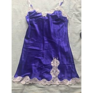 Victoria's Secret Purple Night gown slip. XS